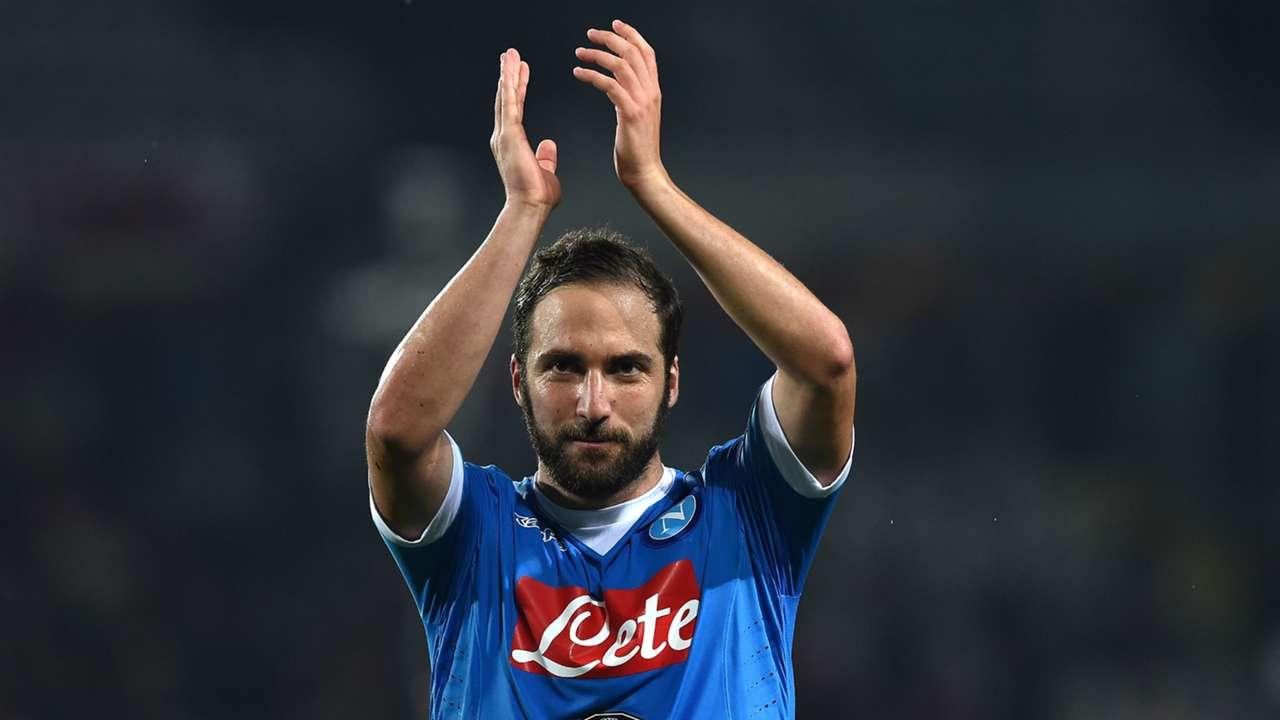 Gonzalo Higuain SSC Neapel FC Turin 08052016