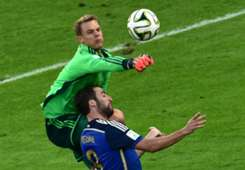 MANUEL NEUER GERMANY GONZALO HIGUAIN ARGENTINA 2014 WORLD CUP FINAL 07132014