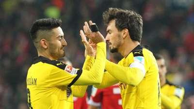 Mats Hummels Ilkay Gündogan Borussia Dortmund BVB Mainz 05 20151016