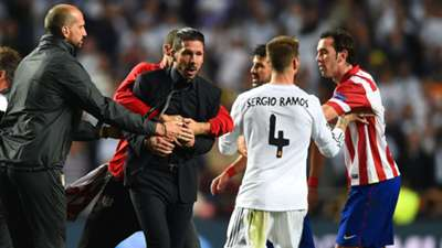 Diego Simeone Atletico Madrid Primera Division 05242014