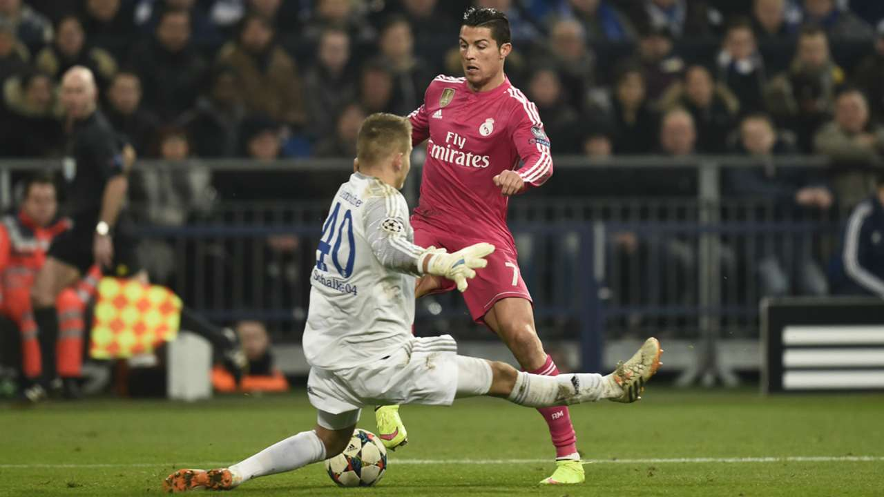 Timon Wellenreuther Cristiano Ronaldo FC Schalke 04 Real Madrid Champions League 02182015