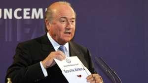 Sepp Blatter South Africa World Cup 2010