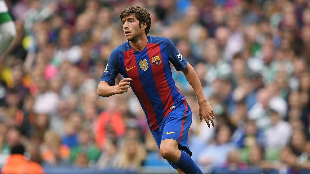 Sergi Roberto FC Barcelona 30072016
