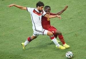 Sami Khedira Kwadwo Asamoah Germany Ghana World Cup 06212014