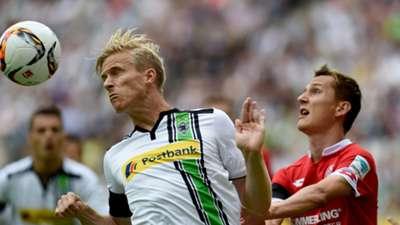 Oscar Wendt Borussia Mönchengladbach Nico Bunger Mainz 05 Bundesliga 05 23082015