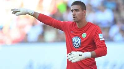 Koen Casteels VfL Wolfsburg Bundesliga 27082016