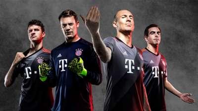 FC Bayern Auswärtstrikot 2016/17