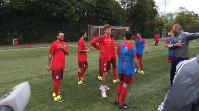 FC Bayern München  TRainingscamp Refugees 150923