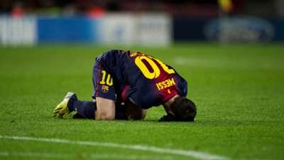 Lionel Messi FC Barcelona 05122012