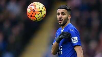 Riyad Mahrez Leicester City Stoke City Premier League 01232016