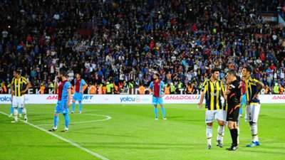 ONLY GERMAN Trabzonspor Randale gegen Fenerbahce 24042016
