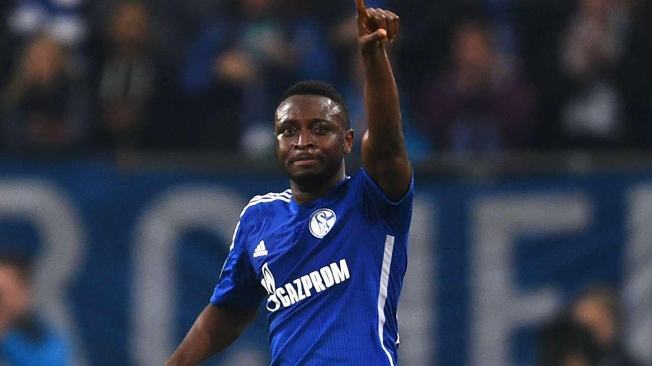 FC Schalke 04 Sporting CP Chinedu Obasi Champions League 10212014