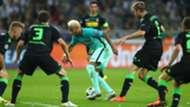 Neymar FC Barcelona Champions League against Borussia Mönchengladbach 28092016