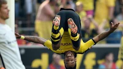 Pierre-Emerick Aubameyang Borussia Dortmund Bundesliga 30082015