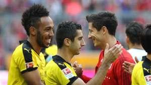 *GER ONLY* Aubameyang Lewandowski FC Bayern Borussia Dortmund