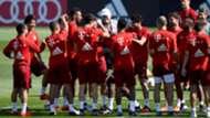 FC Bayern München Trainingslager Katar 11012016