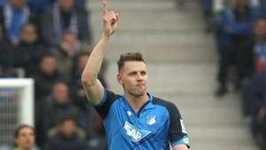 Adam Szalai 1899 Hoffenheim Borussia Monchengladbach Bundesliga 15042017