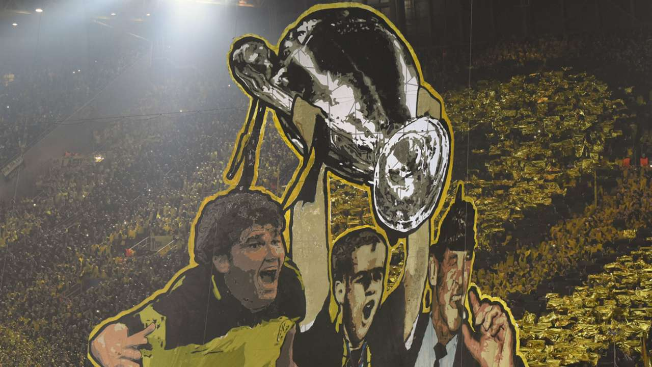 Fans Borussia Dortmund Juventus Turin Champions League 18032015