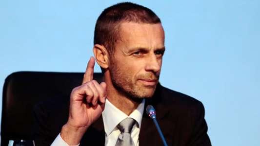 Chủ tịch UEFA lần đầu lên tiếng về việc Man City kháng án thành công   Goal.com