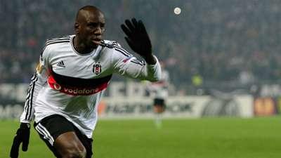 Demba Ba Besiktas Istanbul UEFA Europa League 03192015