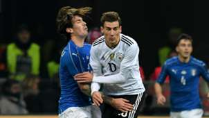 Goretzka Germany Deutschland Italien Italy Friendly 15112016