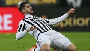 Alvaro Morata Juventus Turin Inter Mailand Serie A 02282016