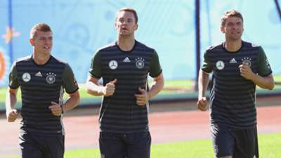 Toni Kroos Manuel Neuer Thomas Müller DFB 18062016