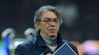 Massimo Moratti FC Internazionale Milano v SSC Napoli - Serie A 01062011