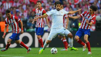 Sami Khedira Tiago Real Madrid Atletico Champions League