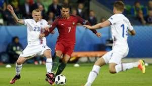 Cristiano Ronaldo Portugal Iceland Island EM 14062016