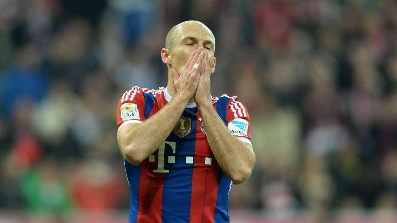 Arjen Robben FC Bayern Munchen Borussia Dortmund Bundesliga 01112014