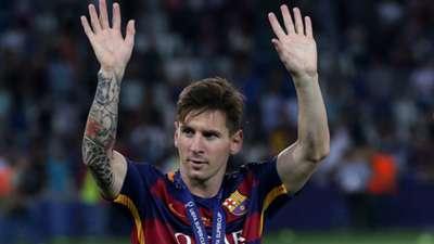 Lionel Messi FC Barcelona 08112015
