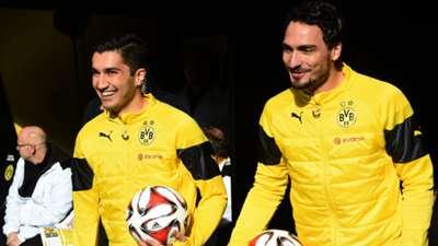 Nuri Sahin Mats Hummels Borussia Dortmund 02282015