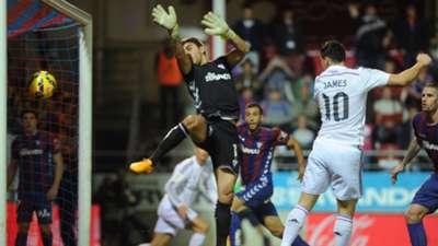 James Rodriguez Xabi Irureta Eibar Real Madrid Liga BBVA 11222014