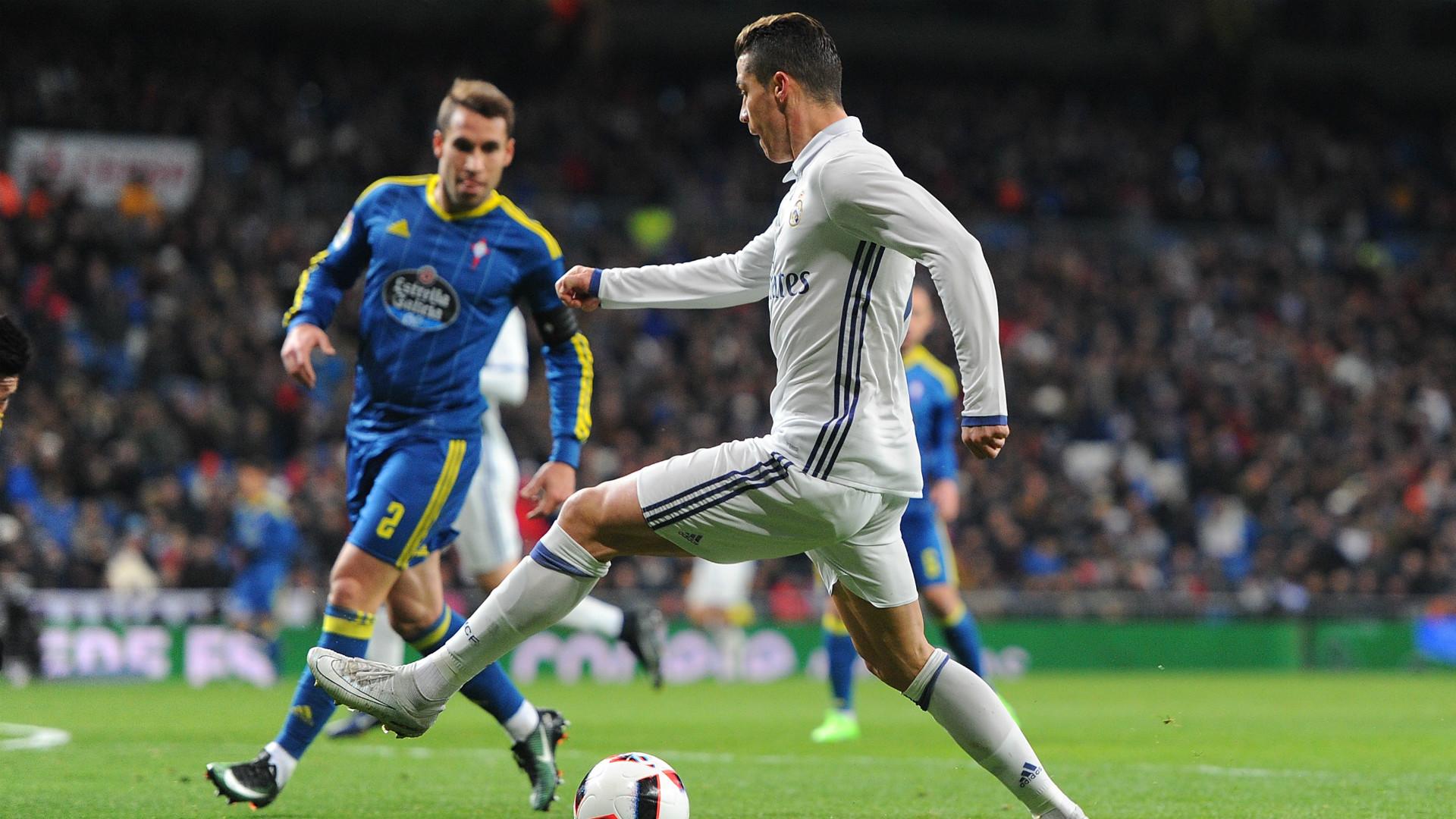 Cristiano Ronaldo Real Madrid Celta Copa del Rey