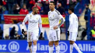 Cristiano Ronaldo Atletico Madrid Real Madrid La Liga 07022015