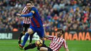 Messi Yeray FC Barcelona Athletic LaLiga