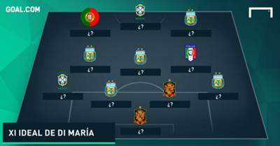GFX XI ideal Di María.