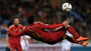Pedro Rodriguez Spain Belarus Euro 2016 Qualifying 15112014