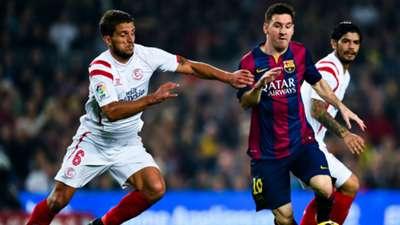 Dani Carrico Lionel Messi Barcelona Sevilla La Liga 22112014