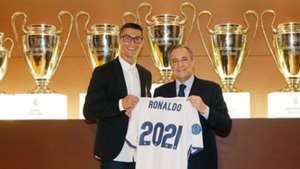 Cristiano Ronaldo Real Madrid renewal