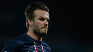 David Beckham PSG Barcelona 2013