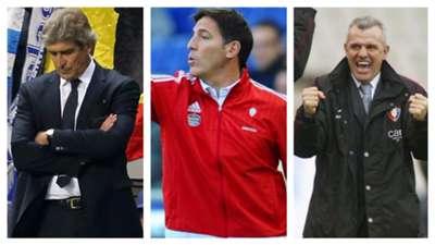 Entrenadores latinos en Liga