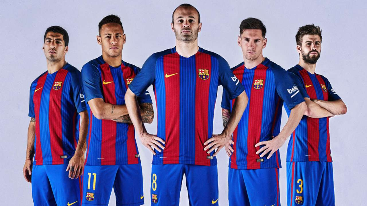 BARCELONA NEW JERSEY 2016 2017