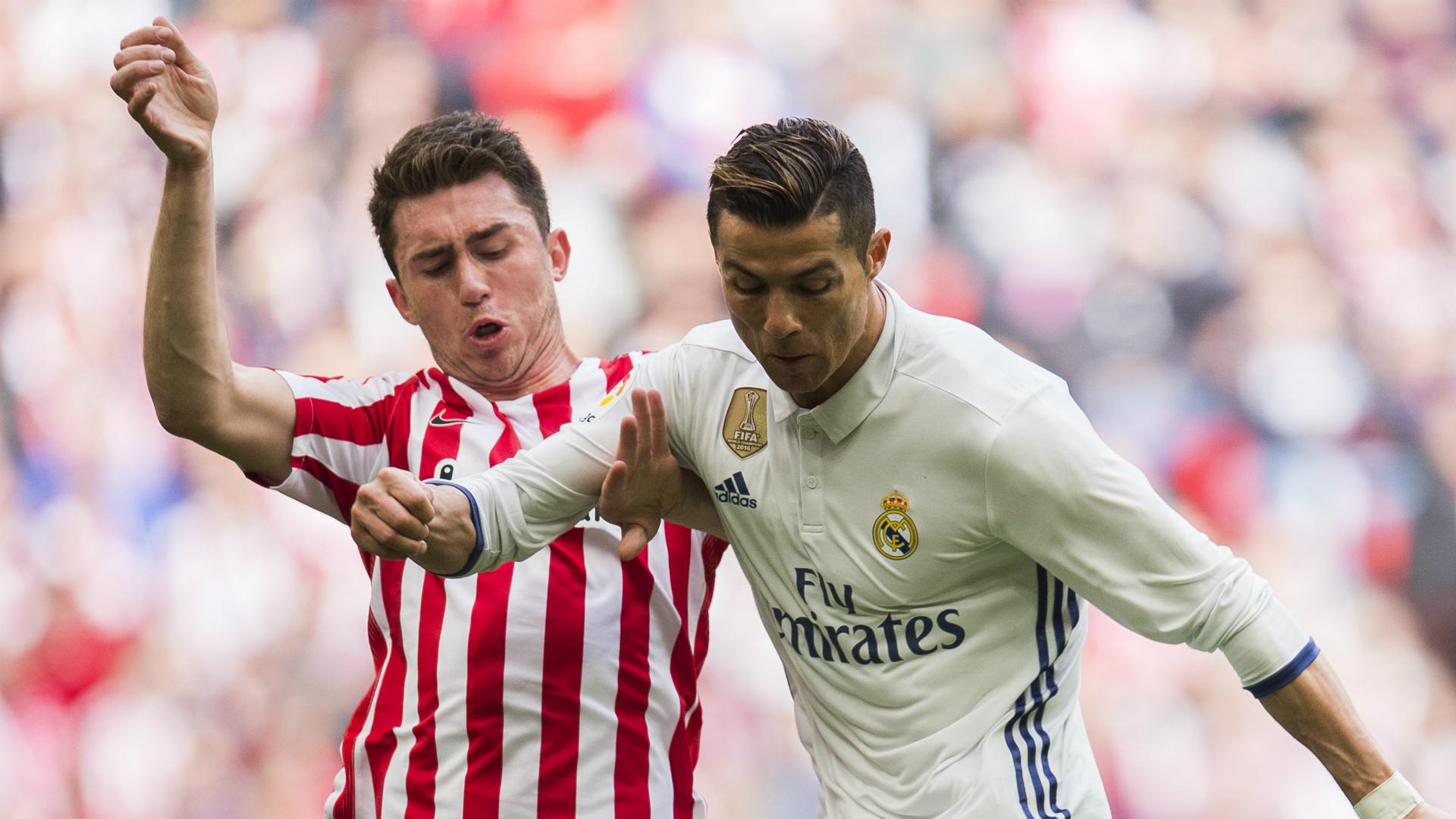 Aymeric Laporte Cristiano Ronaldo Athletic Bilbao Real Madrid La Liga