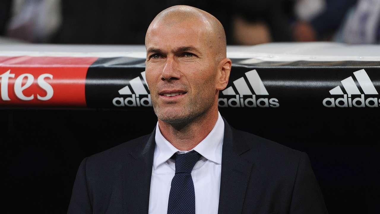 Zinedine Zidane Real Madrid Deportivo Coruna La Liga 09012915