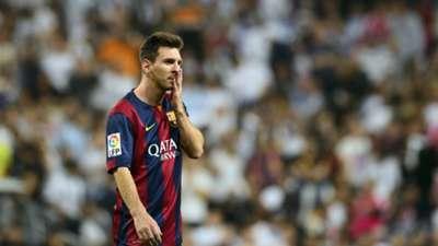 Lionel Messi Real Madrid Barcelona El Clasico La Liga 10252014