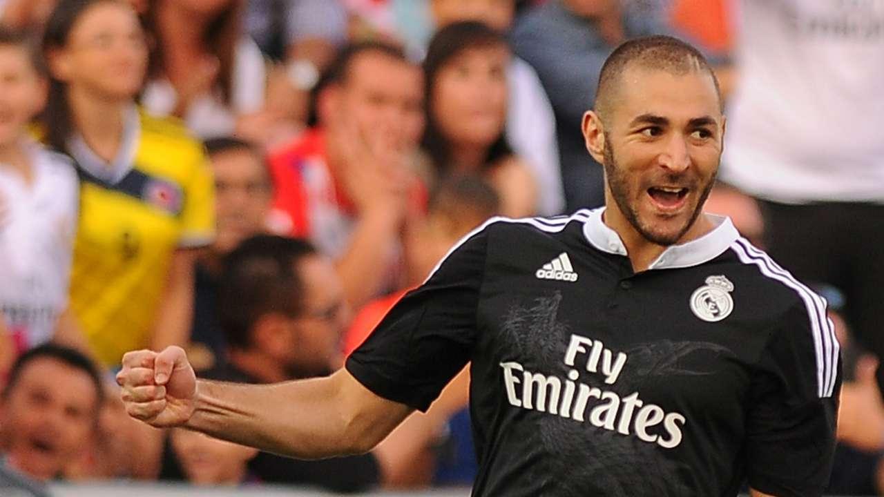 Karim Benzema Granada Real Madrid La Liga 11012014