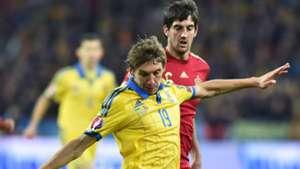 Denis Garmash Mikel San Jose Ukraine Spain Euro Qualifier