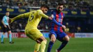 Lionel Messi Mateo Mussachio Villarreal Barcelona La Liga